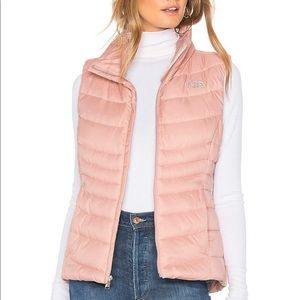 North Face Light Pink Aconcagua Vest 550 XS